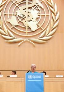 Sec Sebelius - WHO assembly 2012