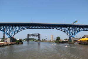 Main Ave Bridge Cuyahoga